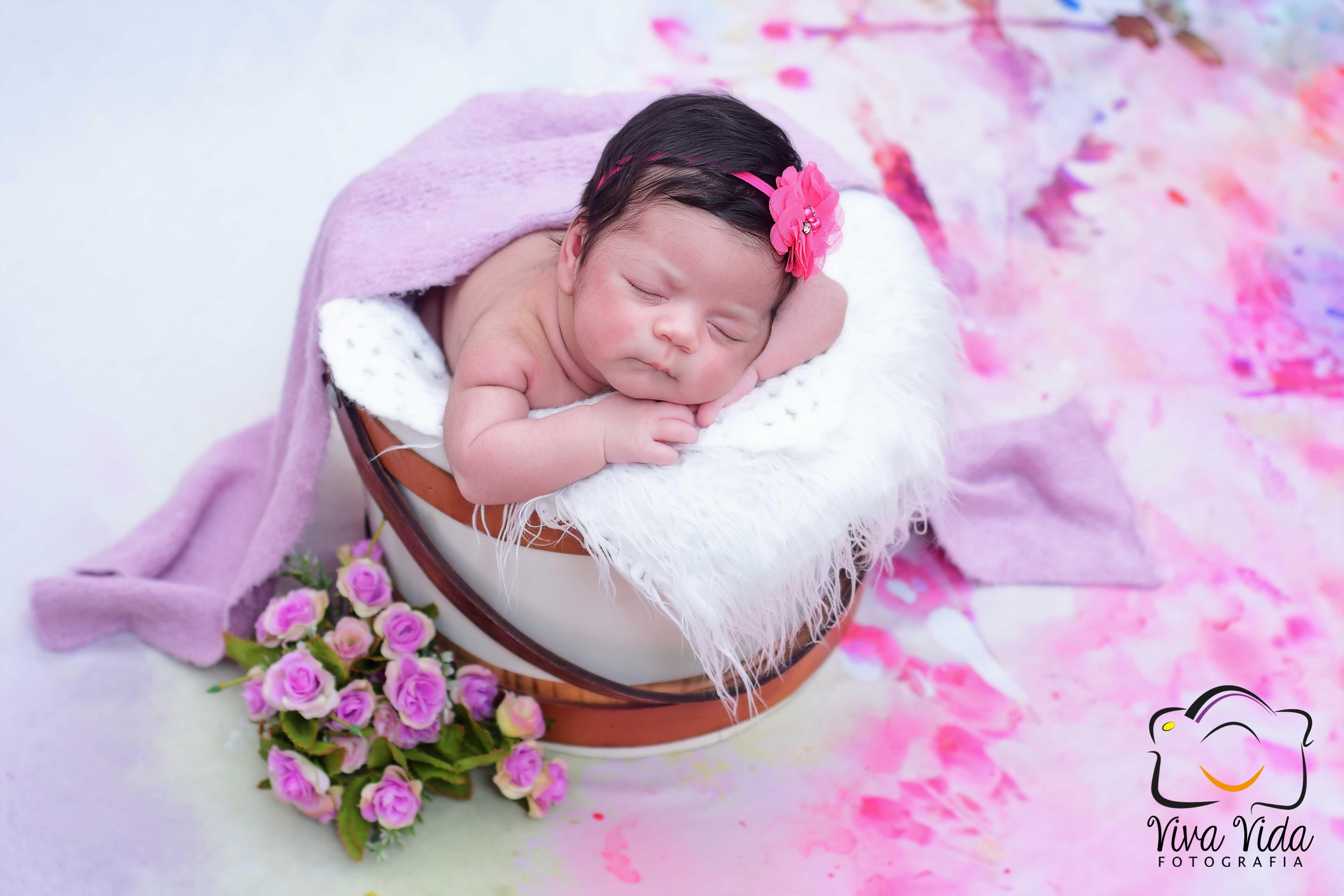 Newborn na residência