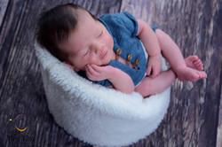 ensaio newborn na residência