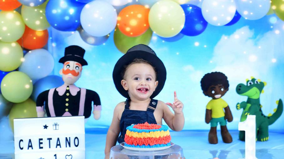 Ensaio fotográfico smash the cake