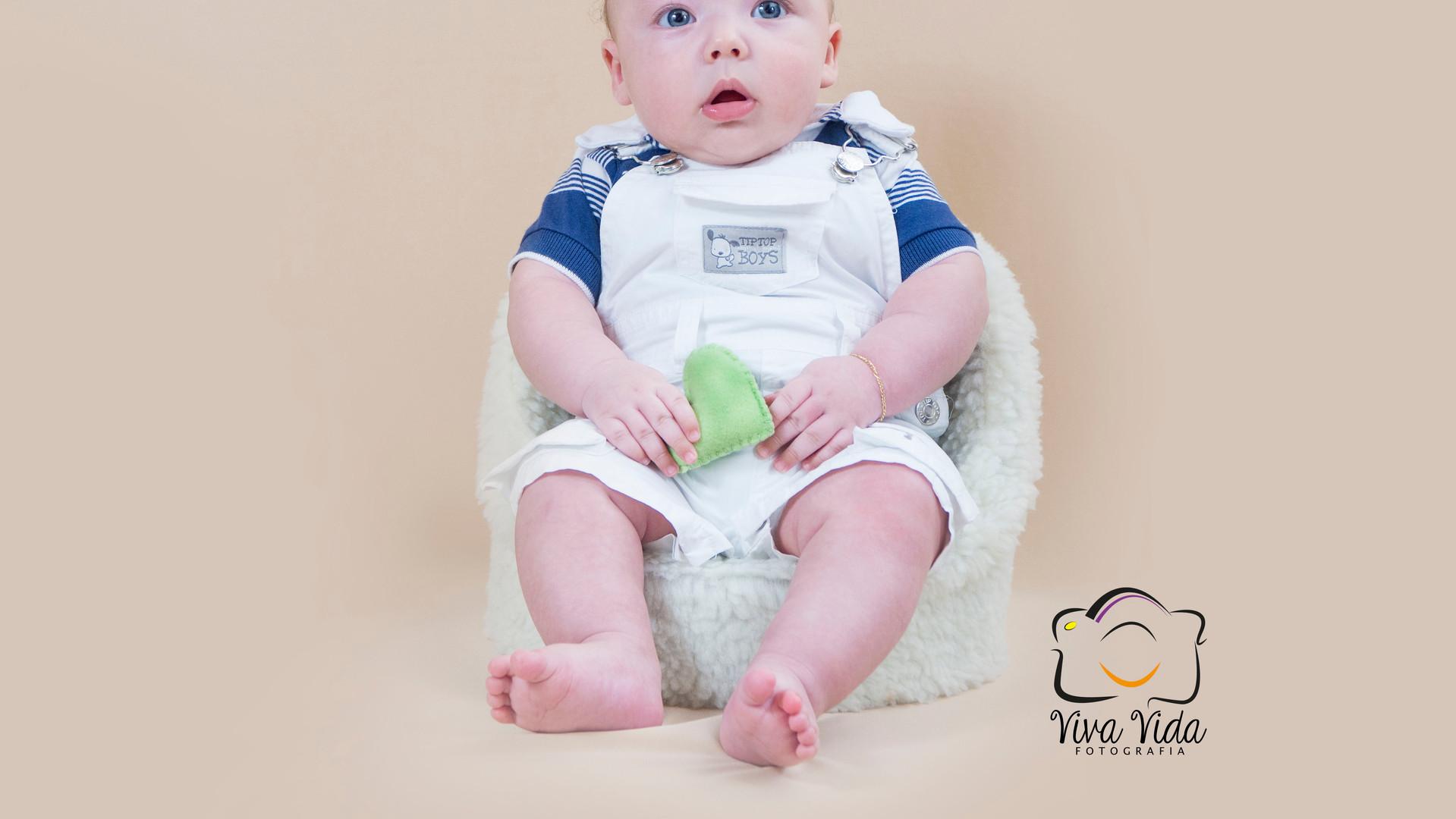 Pietro com 03 meses
