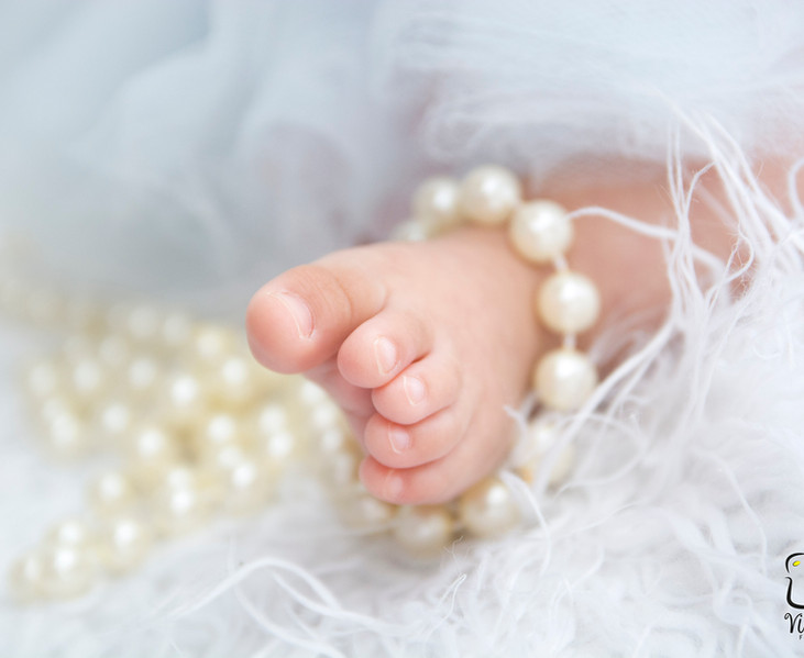 Ensaio trimestral do bebê - Viva Vida Fotografia