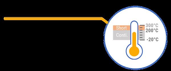 VChamber processing temperature
