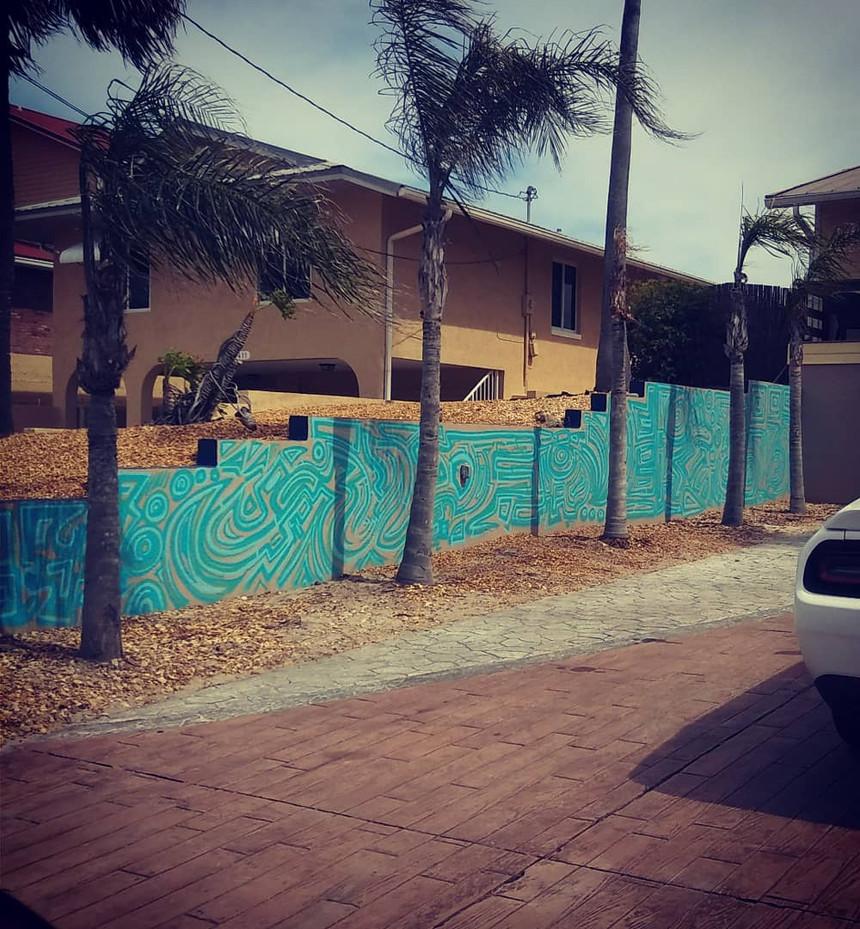 Ocean Mural New Smyrna Beach, FL
