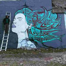 Flowing Hair  Lincoln Art Park Detroit, MI