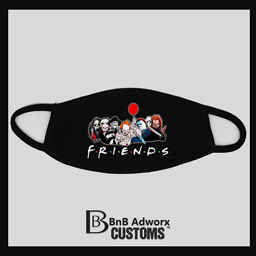 FRIENDS Scary Movie Lover Mask