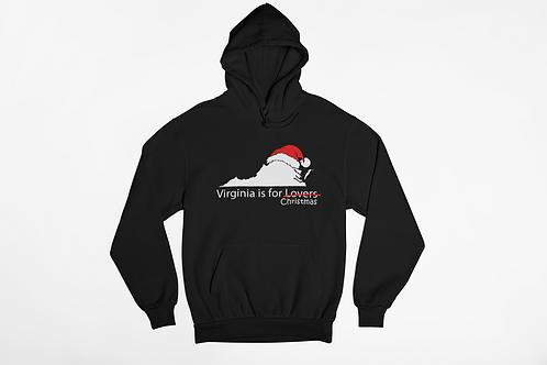 Virginia is For Christmas Hoodie