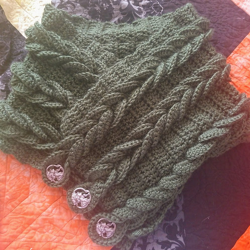 Adult Braided Cowl