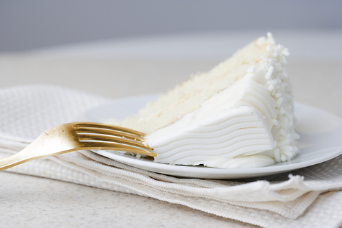 Coconut Cake with Whipped Cream Frosting