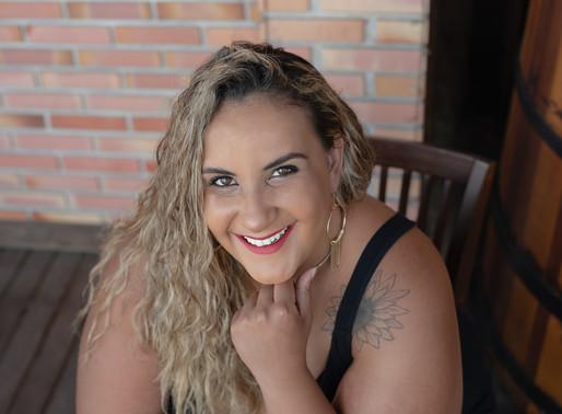 Ensaio Feminino Plus Size - Alinne Bedim