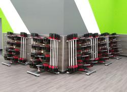 SmartBar with Storage Racks