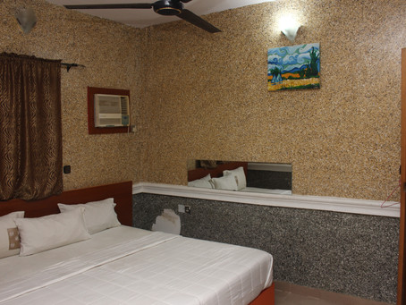 Boutique hotel with affordable rate! DOUBLE ONE SUITES. Tel: 08026947638