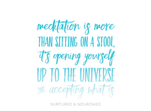 So, What Is Meditation?
