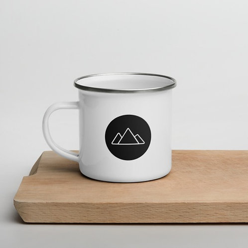 City Hills Logo Enamel Mug