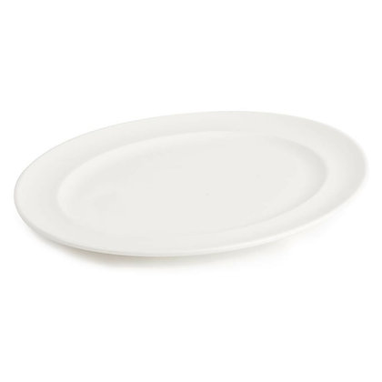 """Wide Rimmed Platter 13"""""""