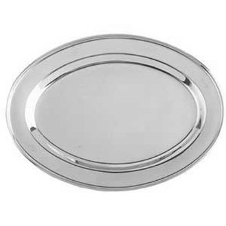 Stainless Steel Oval Trays
