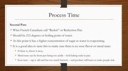Process Time Second Pan