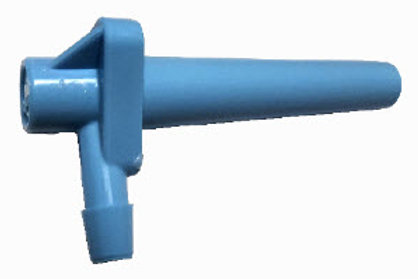"Blue Spout 19/64"", 3/16"" connection - Set of 25"