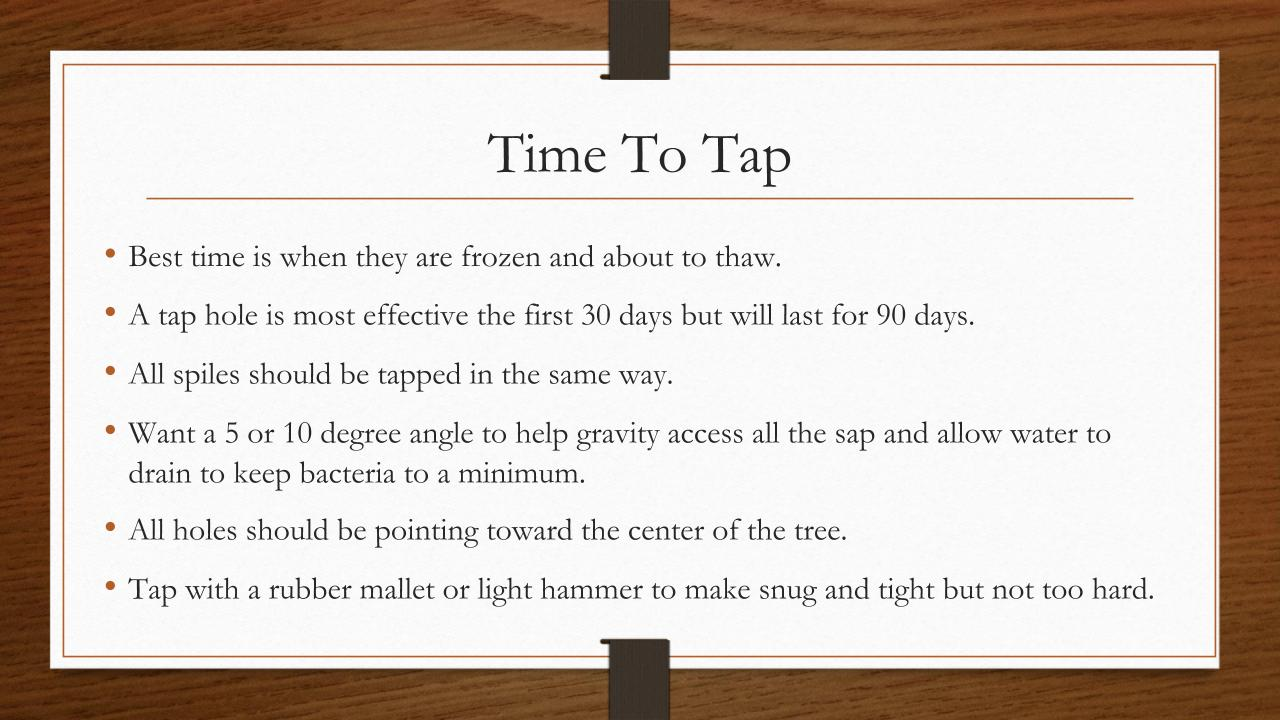 Time To Tap