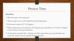 Process Time First Pan