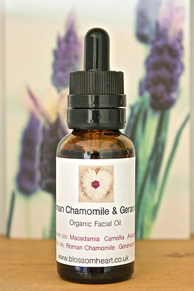 Roman Chamomile & Geranium Facial Oil