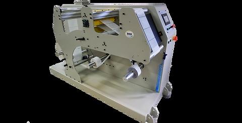 Rebobinadeira e revisora 350 para rotulos termoencolhiveis e similares