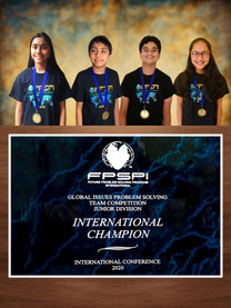 GIPS INTERNATIONAL CHAMPIONS JR DIVISION