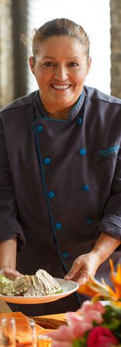 Chef Rosa Chaparro