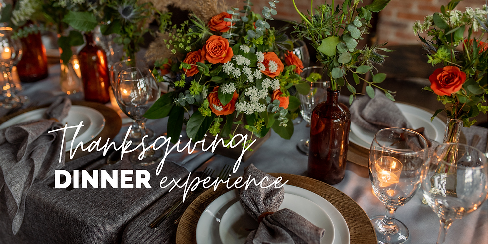 Thanksgiving Celebrity Chef Dinner Experience