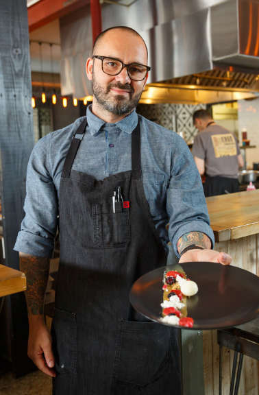 Chef Ferrell Alvarez