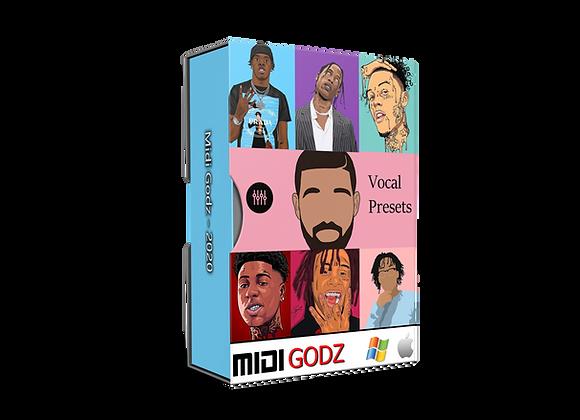 Rap-Sing Vocals Presets - MIDI GODZ