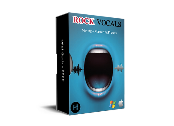 Rock Vocals Presets - MIDI GODZ