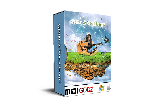 Guitar & Vocal Loops - Midi Godz