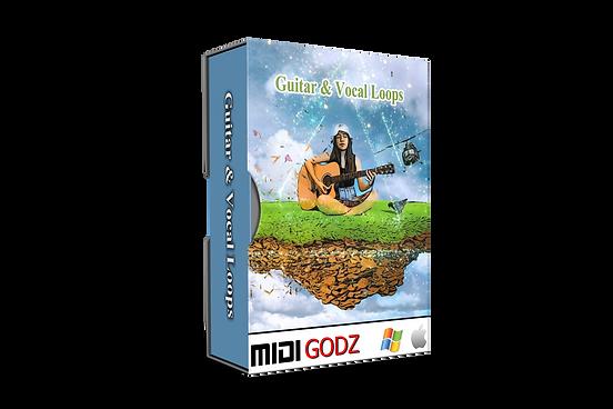 Guitar & Vocal Loops - Midi Godz