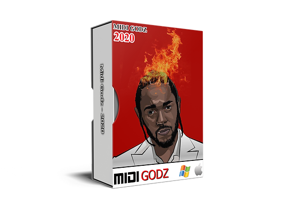 Kendrick Lamar Type MIDI Kit
