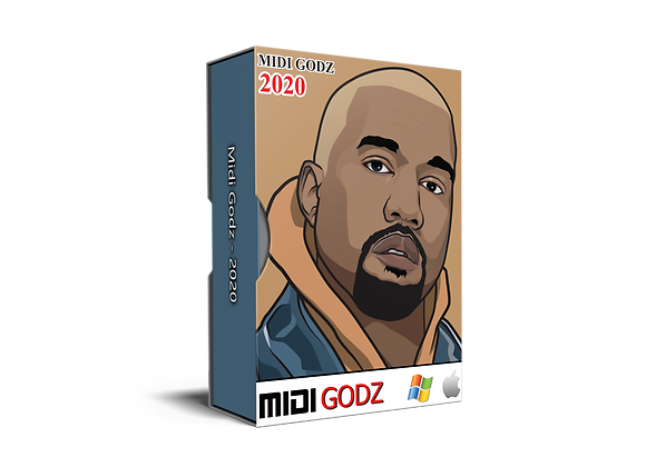 Kanye West Type MIDI Kit