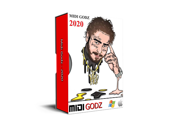 Post Malone Type MIDI Kit