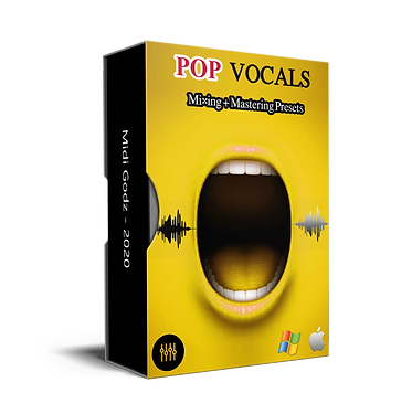Pop Vocals Presets - MIDI GODZ