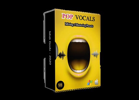 Pop Vocals Presets - MIDI GODZ