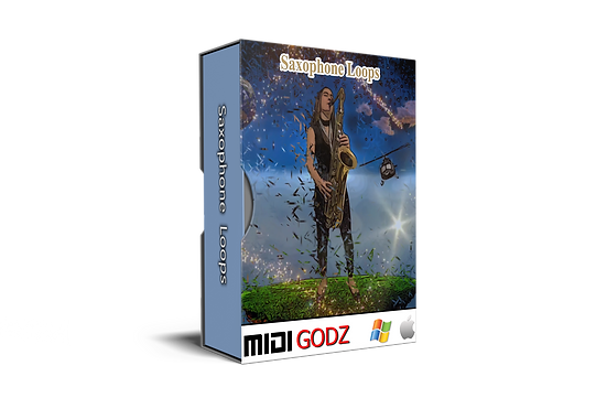 Saxophone Loops - Midi Godz