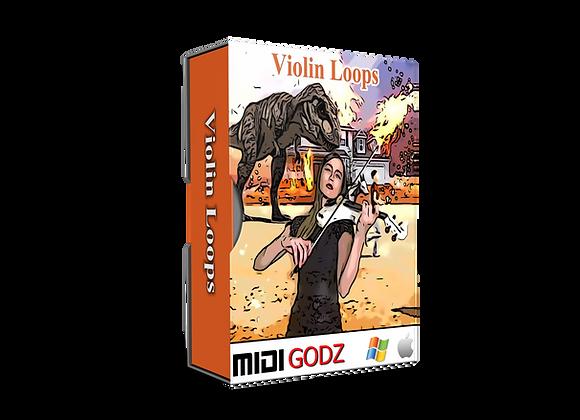 Violin Loops - Midi Godz
