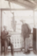 Horace Lermitte med laks