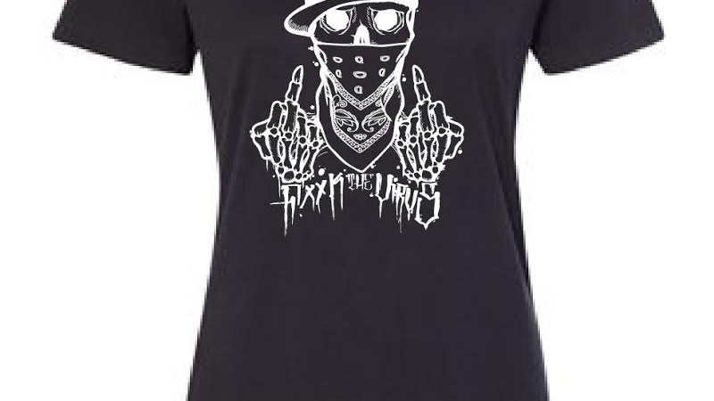 F the virus Mens T-shirt