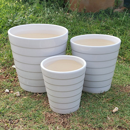002 - Glossy Ceramic Pot