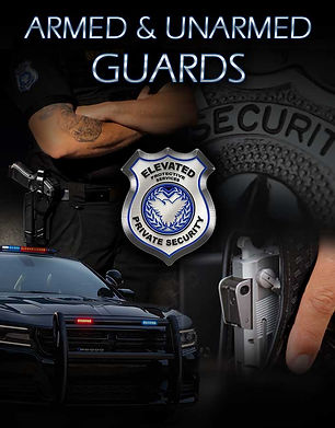 Armed & Unarmed Guards