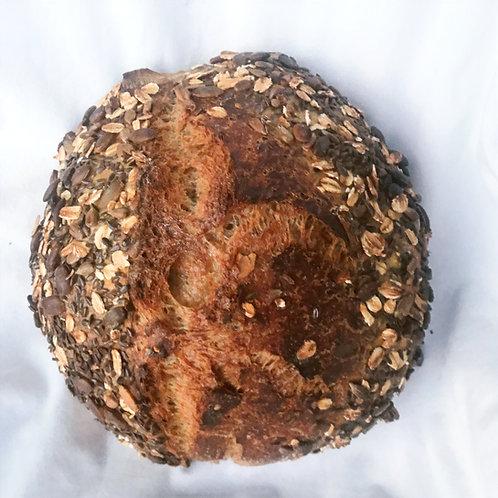 French Artisan Rye Seeded Sourdough