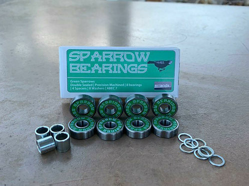 Green Sparrow Bearings (Abec 7)