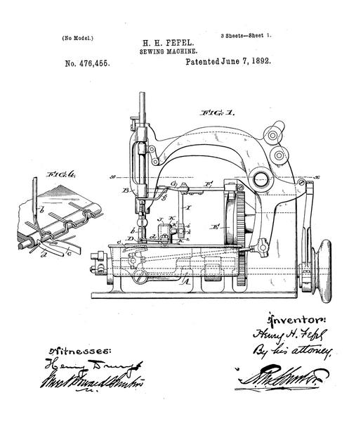 Sewing Machine 476455