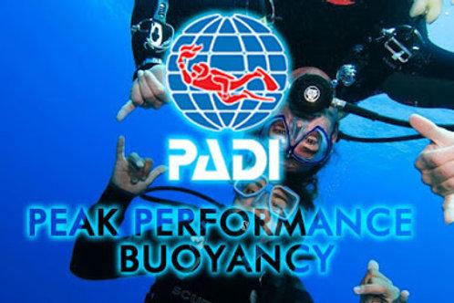 Peak performance Bouyancy Course