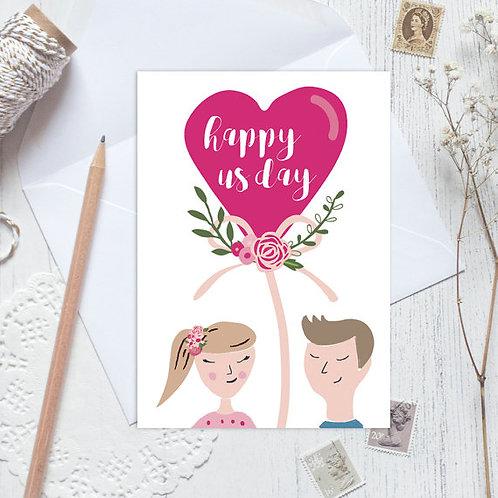 Wedding card, anniversary card, engagement card