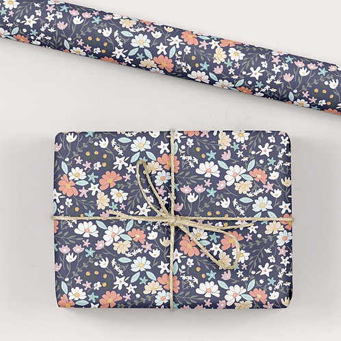 Floral Wrapping Paper / Gift Wrap - Good Times Ditsy Floral